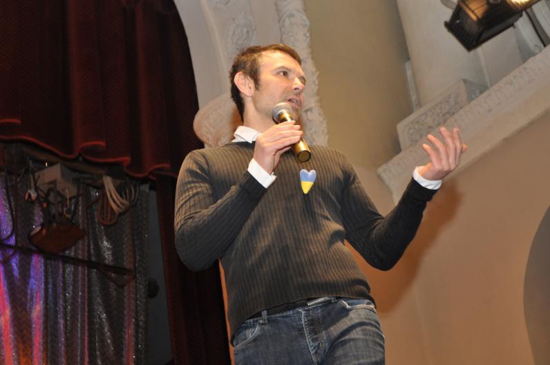 Святослав Вакарчук встретился со студентами Днепропетровщины (Фото)