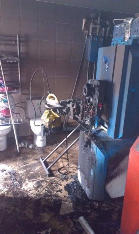 Ночью был сожжен дом Олега Царева (ФОТО)