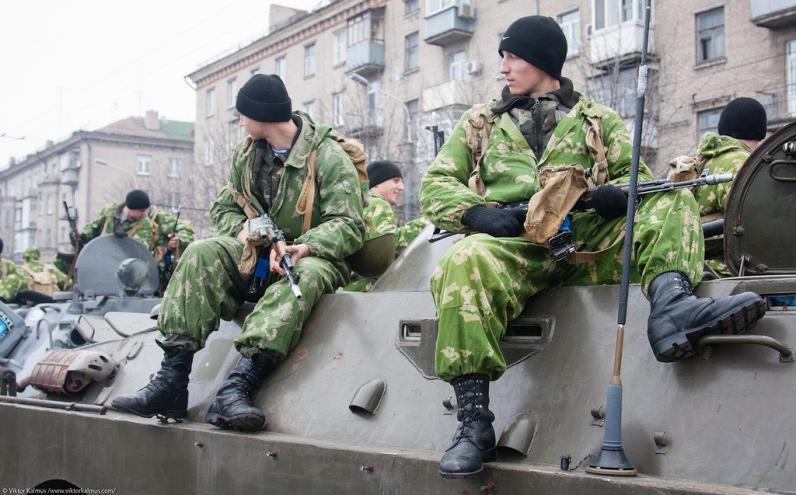 Возле Рубежного и Волновахи произошли столкновения силовиков и террористов