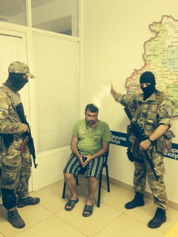 Батальон «Днепр» задержал «народного мэра» Алчевска (ФОТО)