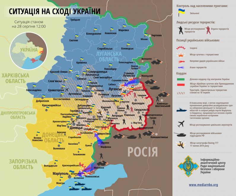 Российские войска захватили несколько населенных пунктов на Донбассе