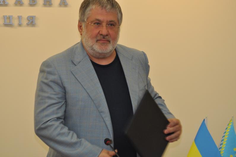 Игорь Коломойский уволен с должности губернатора Днепропетровщины