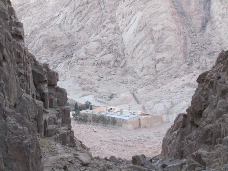 Восхождение на Сафсафу по «мягким» камням