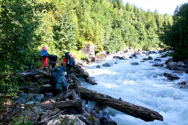 Приключения в горах Грузии