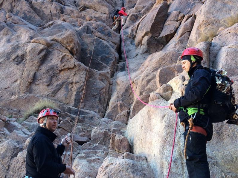 Альпинизм в горах Синая