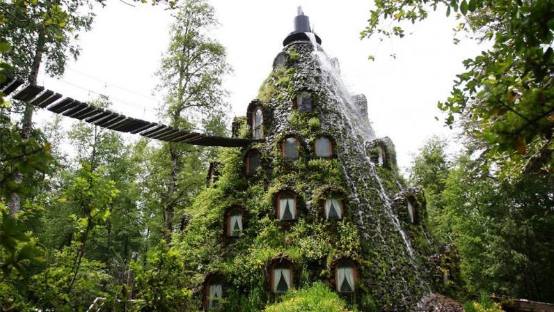 Десять самых необычных отелей мира