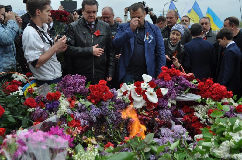 Днепропетровск помнит, Днепропетровск победит (Фото)