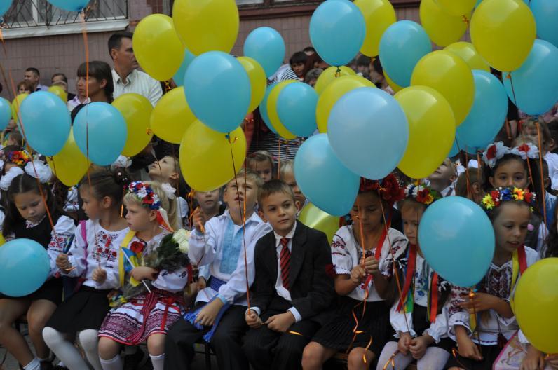 В школах Днепропетровщины прозвучал последний звонок