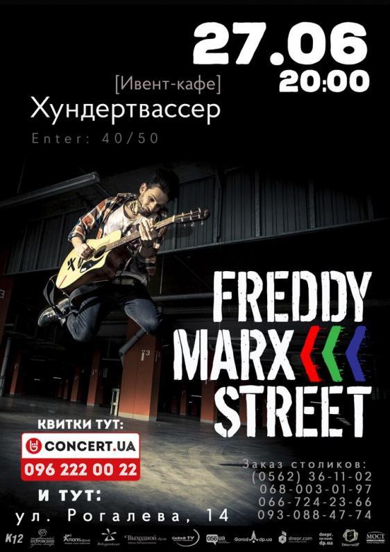 FREDDY MARX STREET