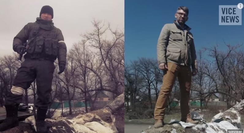 Журналист проследил путь российского солдата в Украину (Видео)