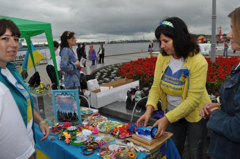 Праздники с волонтерами (Фото)