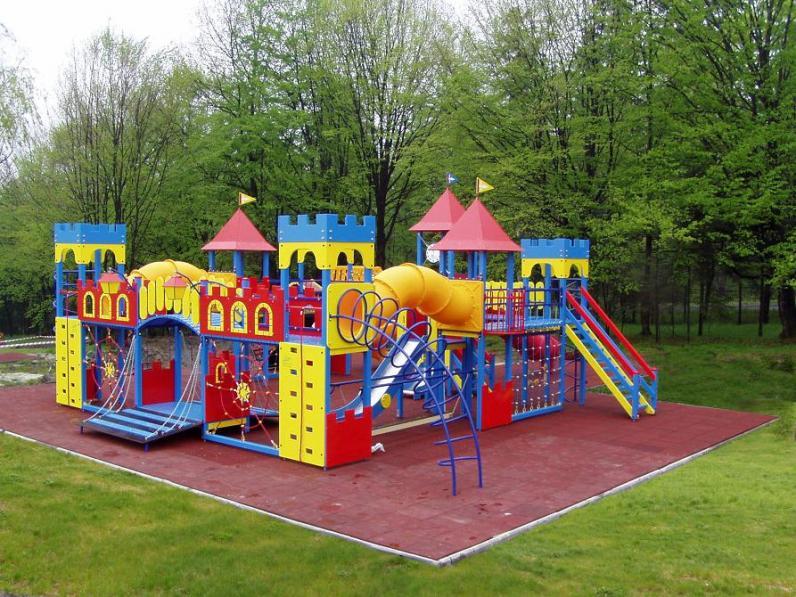 В Днепропетровске установят 100 спортивных и детских площадок