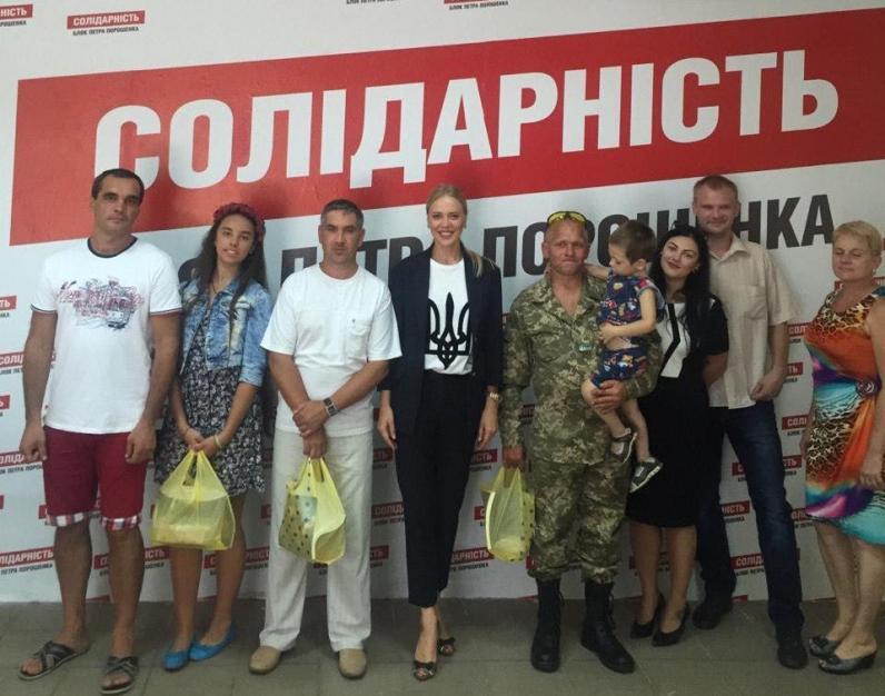 Ірина Грицай: «День Незалежності стає днем пошани героїв – борців за Україну»