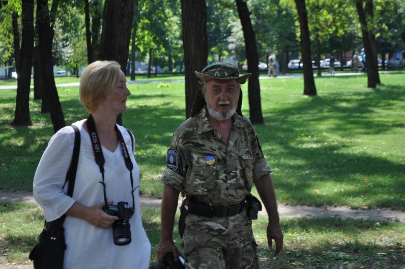В Днепропетровске вспоминали павших в Иловайске (Фото)