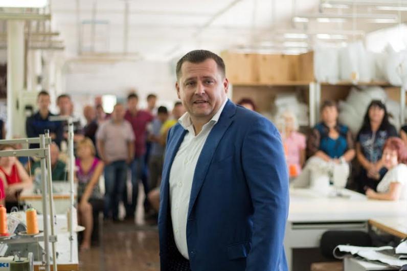 Борис Филатов - мебельная фабрика «Прогресс» - такой же символ Днепропетровска, как и промышленные гиганты