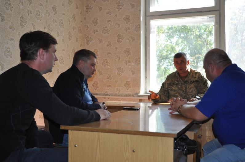 Правозахисники та волонтери відкрили в штабі 93-ї бригади центр правової та психологічної допомоги