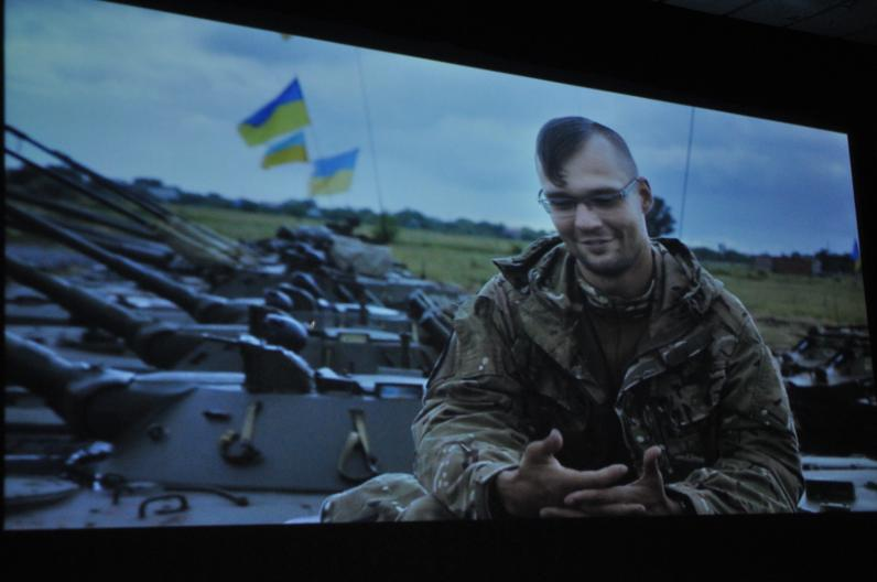 Как в Днепропетровске защитников поздравляли (Фото)