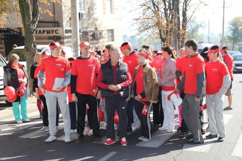 Студенти та медики Дніпропетровська вийшли на «Марафон Слави»