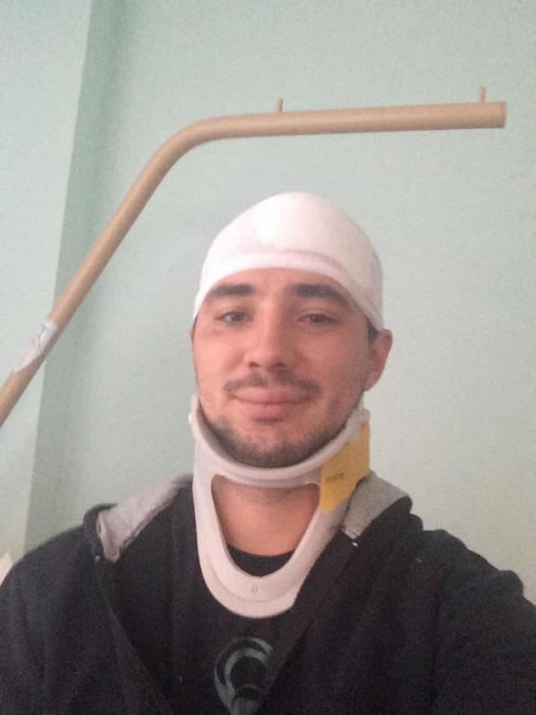 Евгений Терехов рассказал об аварии