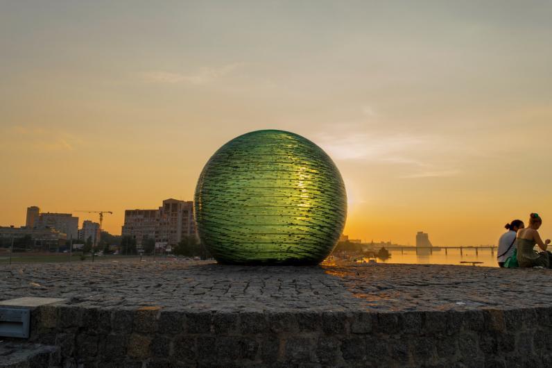 В Днепропетровске восстановят «Шар Желаний»