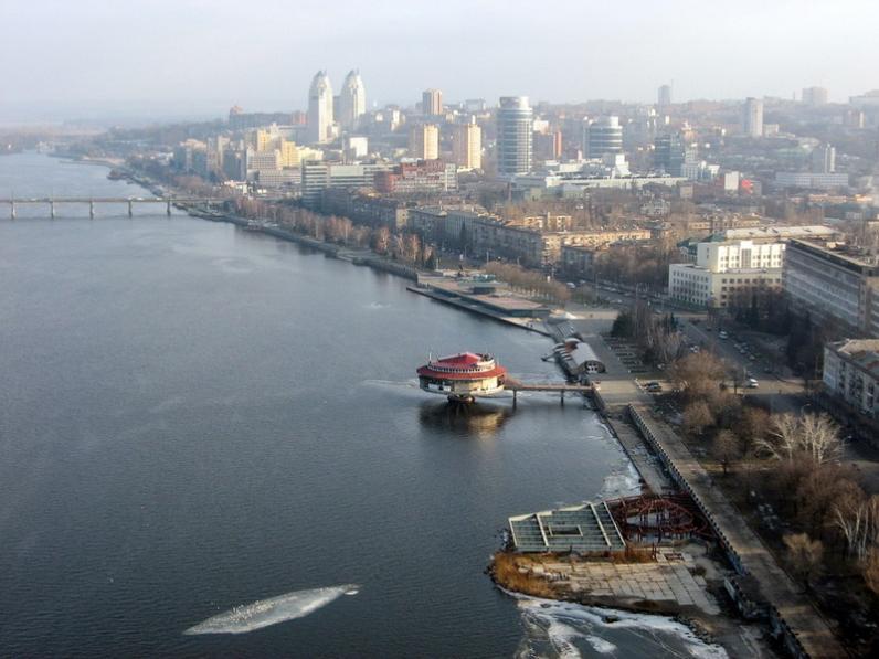 Перечень новых улиц, парков и скверов Днепропетровска