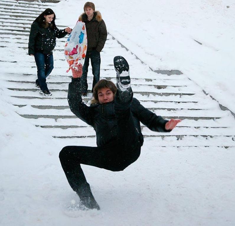 Горожанам расскажут, как добиться штрафа за неубранный снег