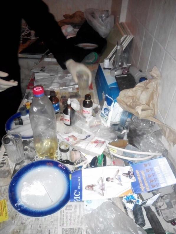 На Днепропетровщине ликвидировали нарколабораторию