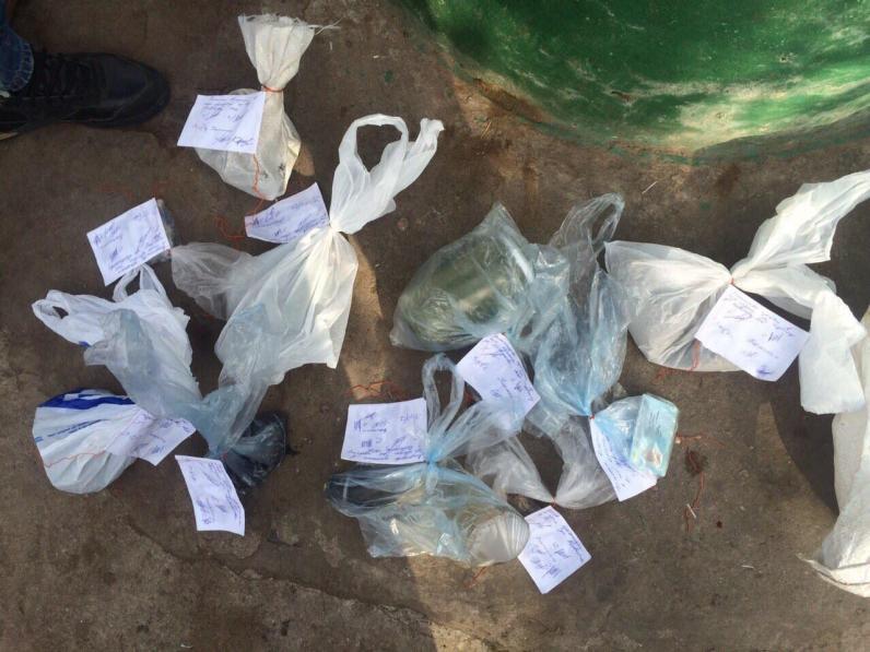 В Днепродзержинске правоохранители насобирали марихуаны на 30 тысяч