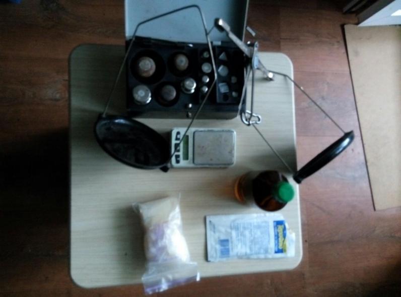 Полицейские изъяли в Павлограде «метамфетамин» на сто тыс. грн.
