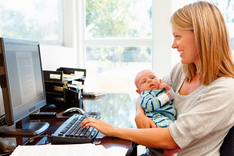 Все, что нужно знать молодой маме о работе в декрете