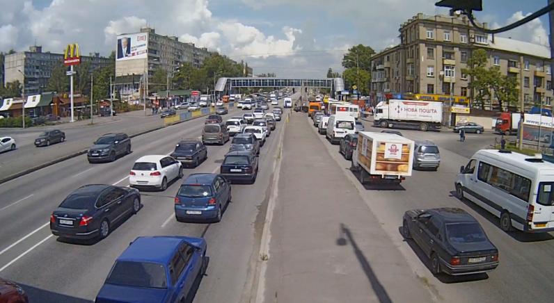 Смертельное ДТП на Слобожанском проспекте