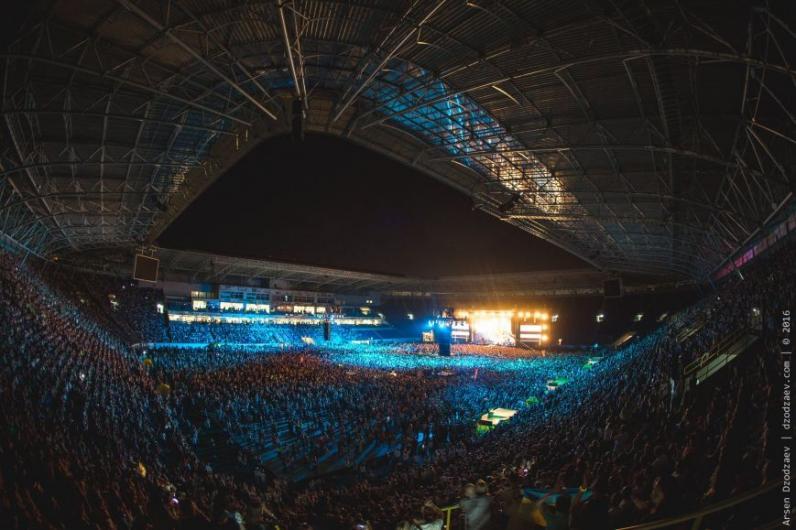 Океан Эльзы в Днепре (фотографии с концерта)