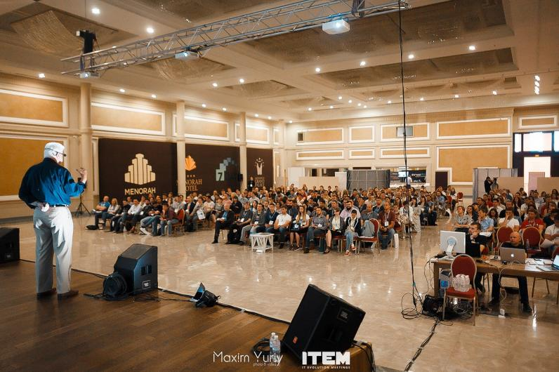 Отчет о 4й конференции ITEM: Tom Gilb, Jurgen Appelo, Jaanika Merilo и другие звезды IT-бизнеса в Днепре