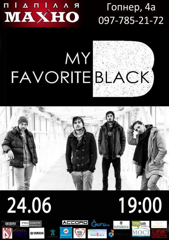 MY FAVORITE BLACK