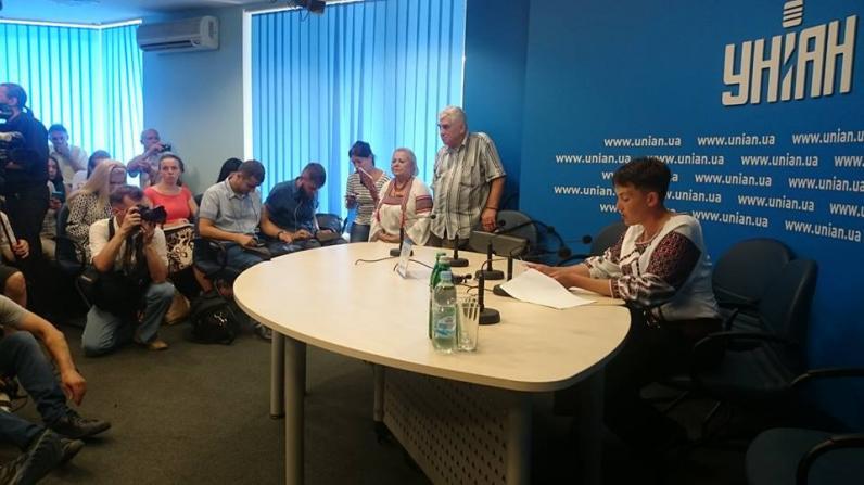 Савченко снова голодает