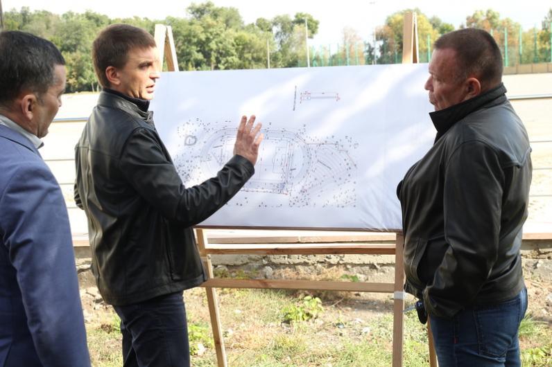 Гліб Пригунов: «Реконструкція стадіону «Трудові резерви» під жорстким контролем»