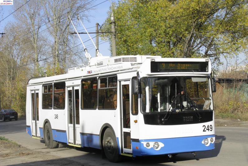 В Днепре не будет ходить 11 троллейбус