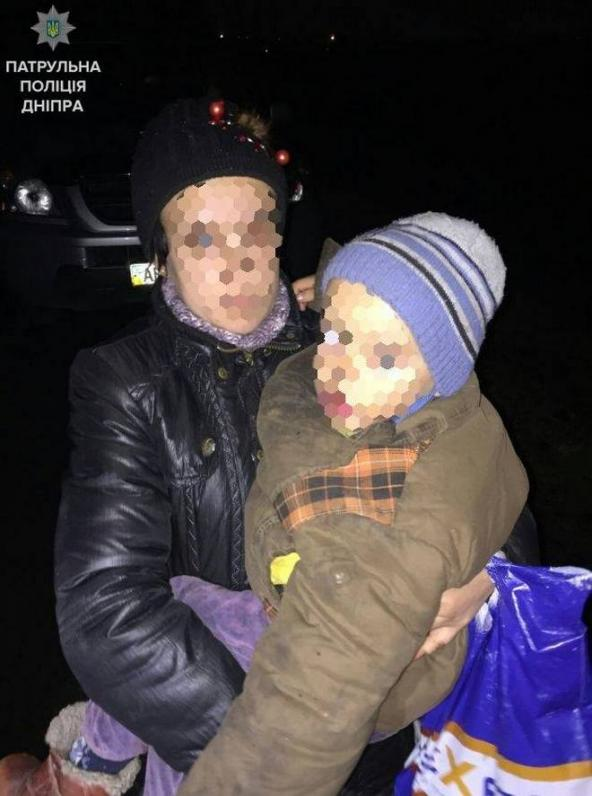 В Днепре нашли ребенка в луже (Фото)
