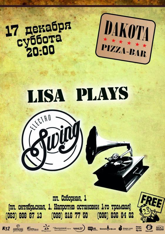 Lisa plays