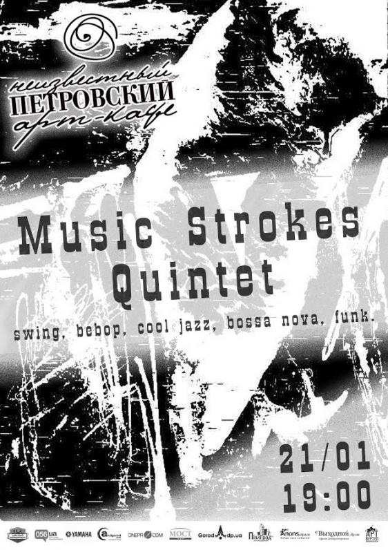 Music Strokes Quintet