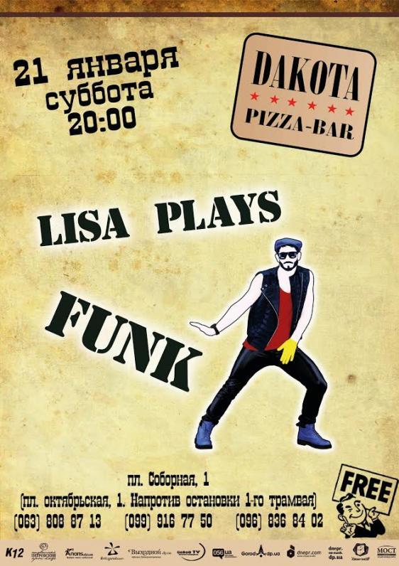 Lisa plays Funk