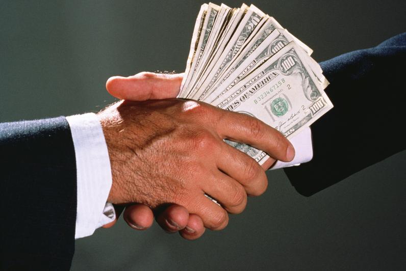 Украина заняла 131 место в рейтинге восприятия коррупции