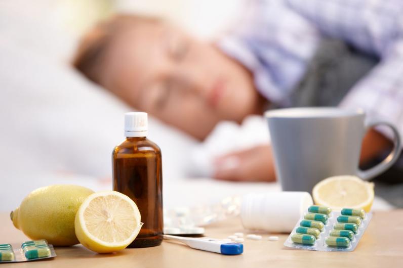 В Украине за неделю заболели гриппом 180 тысяч человек