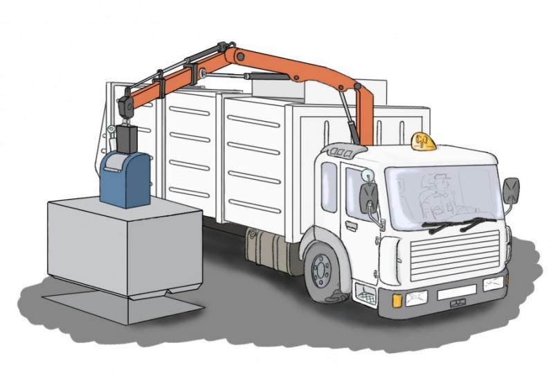 В Днепре появятся подземные контейнеры для мусора
