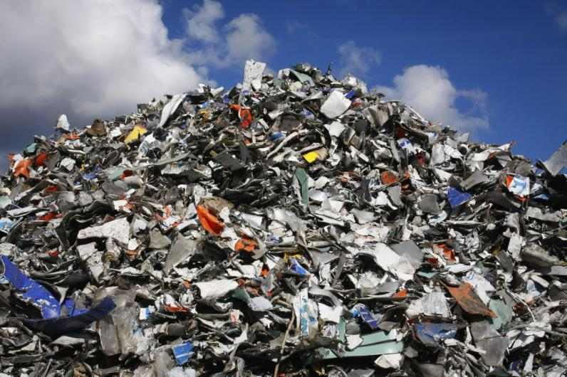 В Днепре разрабатывают проект электростанции, работающей на мусоре