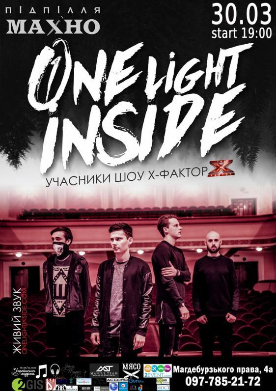 ONE LIGHT INSIDE