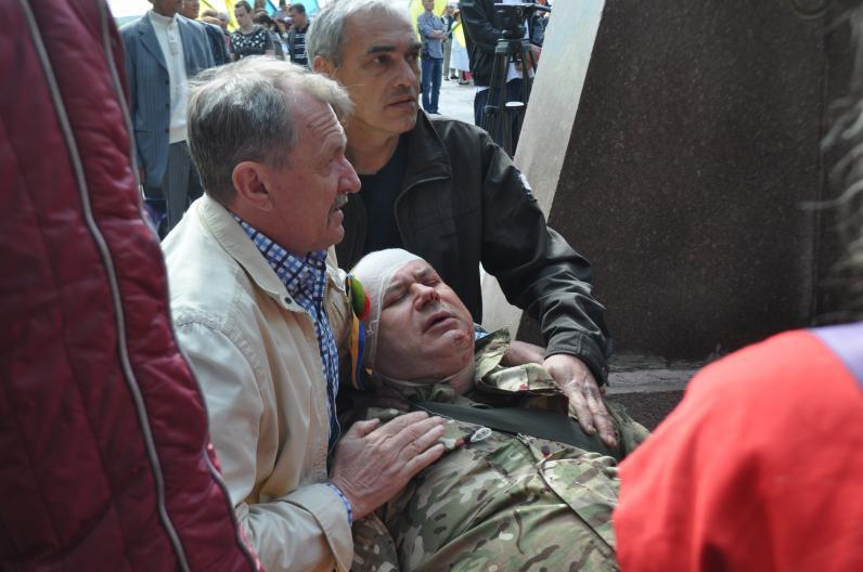 Кровавый день Победы