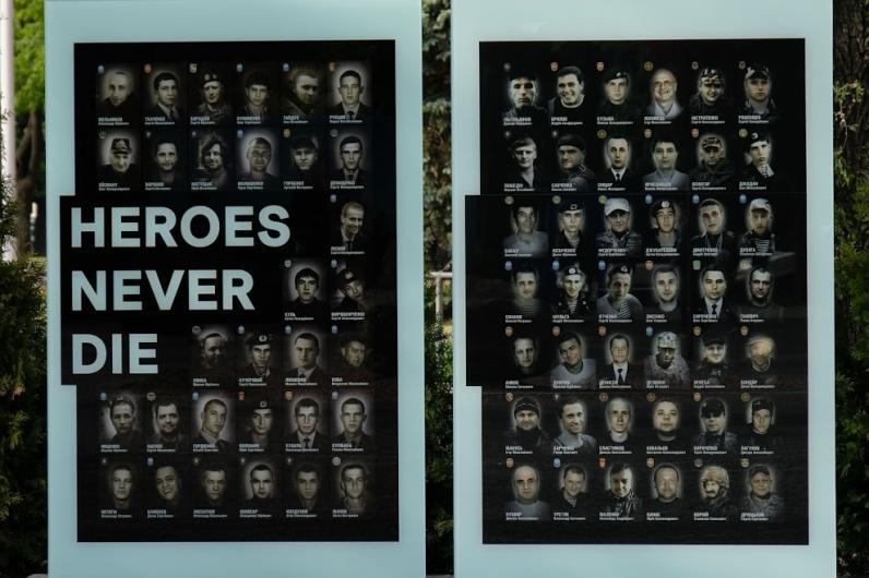 В Днепре открыли Аллею Памяти погибших в АТО (Фото)