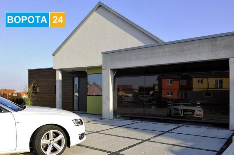 Фото и примеры автоматических въездных и роллетных ворот на гараж в Одессе - какие можно купить у компании vorota24.com.ua?