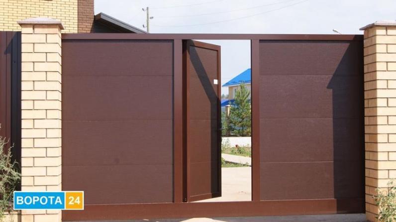 Гаражні та відкатні ворота в Ужгороді від компанії Ворота 24